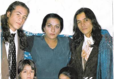 Fotos de canelita y su sobrino