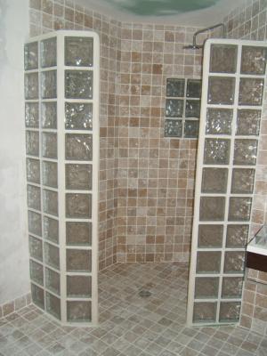 Pave de verre douche ~ Solutions pour la décoration intérieure de ...